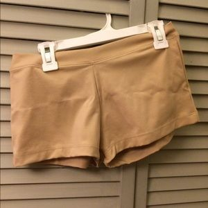 864fe2f9306f Capezio Shorts - Capezio Adult Boy-Cut Lowrise Dance Shorts Nude